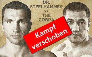 More Info for Box-WM im Schwergewicht wird wegen Verletzung von Wladimir Klitschko verschoben
