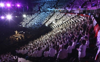 young voices germany barclaycard arena. Black Bedroom Furniture Sets. Home Design Ideas