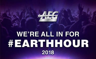 More Info for #EarthHour - auch 2018 beteiligt sich die Barclays Arena Hamburg an Aktion des WWF