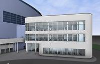 More Info for Einschränkungen durch finale Arbeiten am Arena-Anbau ab 09.01.2012