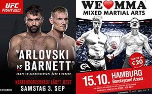 More Info for UFC® Hamburg: Einzig noch Premium Tickets erhältlich